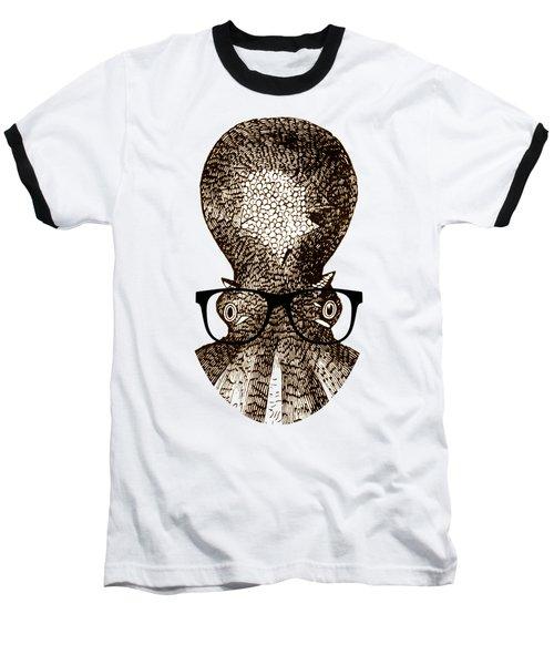 Octopus Head Baseball T-Shirt