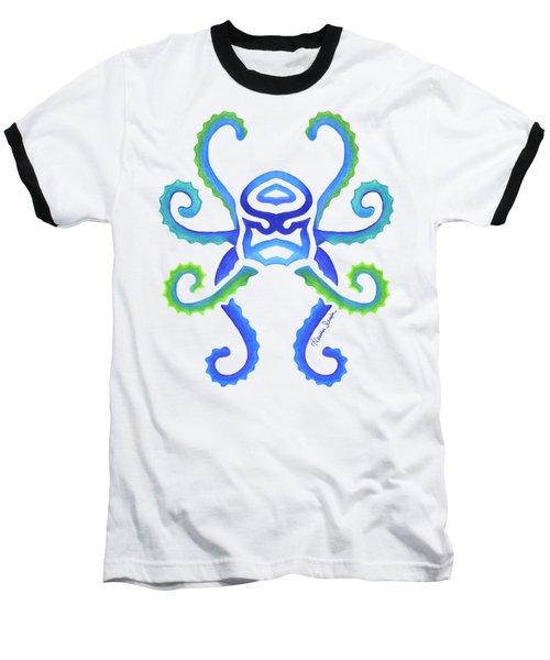 Octopus Baseball T-Shirt