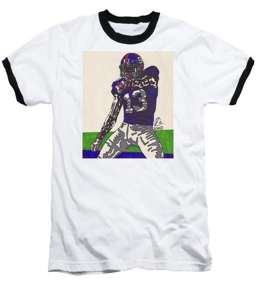 Odell Beckham Jr  Baseball T-Shirt by Jeremiah Colley