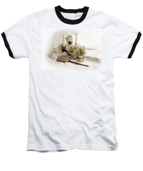 Baseball T-Shirt featuring the photograph Of Days Past by Ann Lauwers