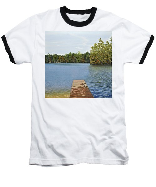 Off The Dock Baseball T-Shirt by Kenneth M  Kirsch