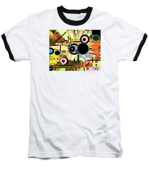 Baseball T-Shirt featuring the digital art Off The Grid 66 by Lynda Lehmann
