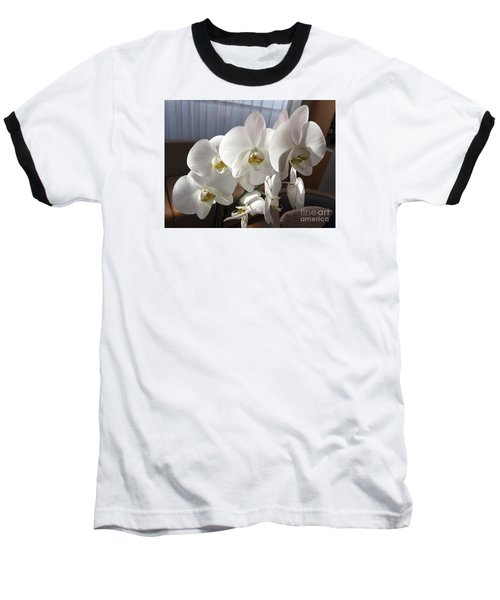 Oh Those Orchids Baseball T-Shirt