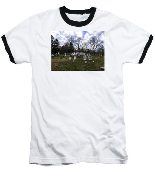 Old Town Cemetery Sandwich, Massachusetts Baseball T-Shirt