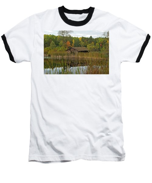 Old Bait Shop On Twin Lake_9626 Baseball T-Shirt