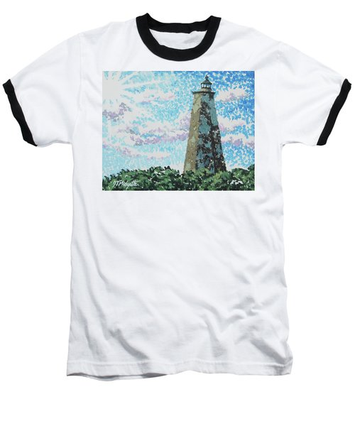 Old Baldy Lighthouse Baseball T-Shirt
