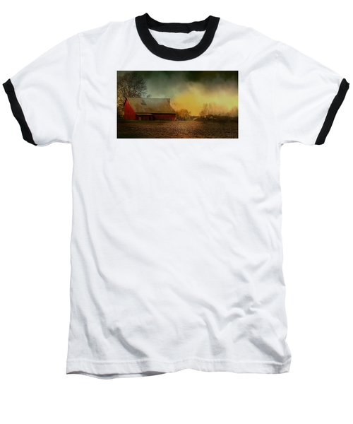 Old Barn With Charm Baseball T-Shirt