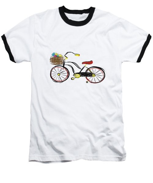 Old Bicycle Baseball T-Shirt