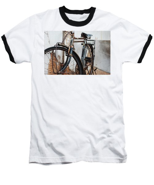 Old Bike II Baseball T-Shirt