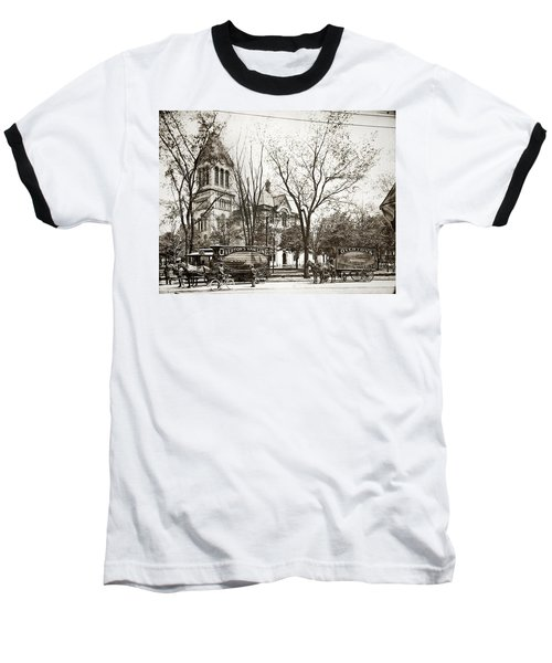 Old Courthouse Public Square Wilkes Barre Pa Late 1800s Baseball T-Shirt