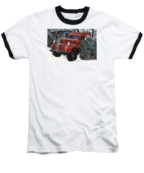 Old Fashion Country Christmas  Baseball T-Shirt