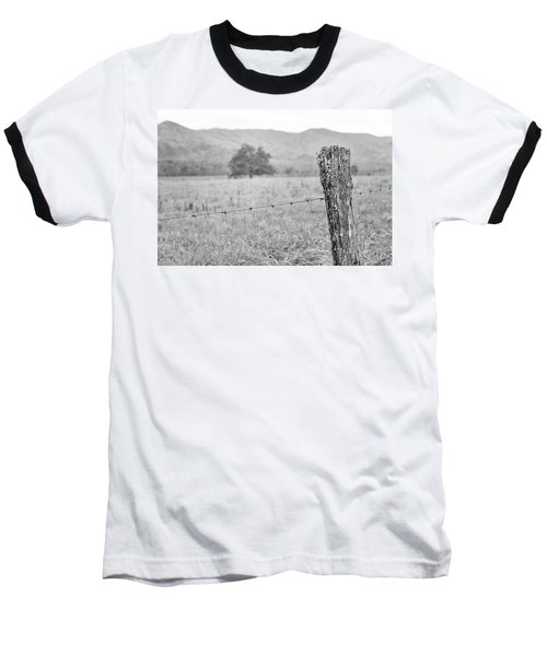 Old Fence Post Baseball T-Shirt