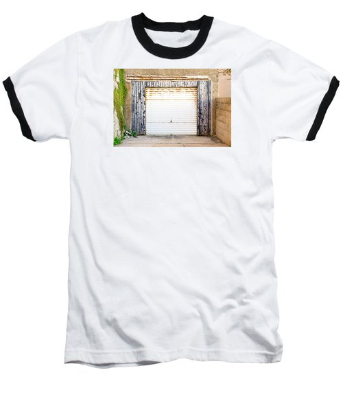 Old Garage Door Baseball T-Shirt
