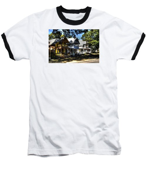 Baseball T-Shirt featuring the photograph Old Homes Martha's Vineyard by Donald Williams