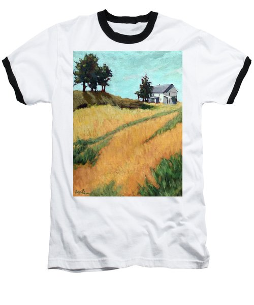 Old House On The Hill Baseball T-Shirt