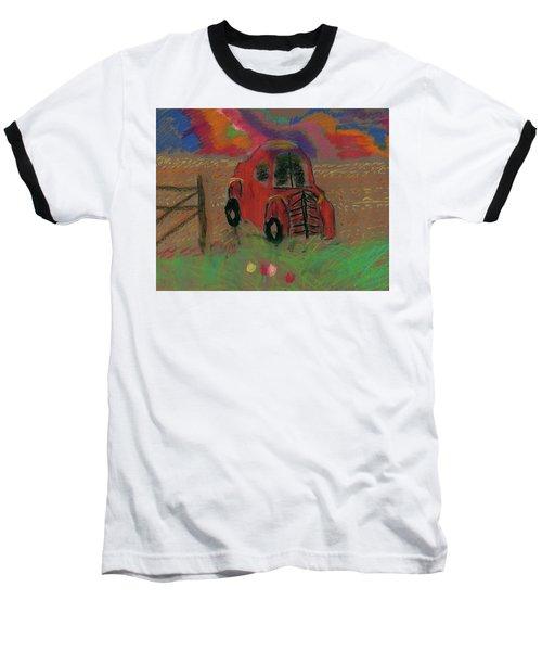 Old Jalopy Baseball T-Shirt