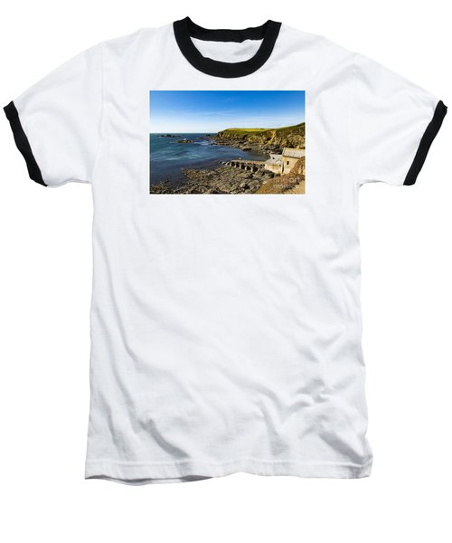 Baseball T-Shirt featuring the photograph Old Life Boat Station by Brian Roscorla