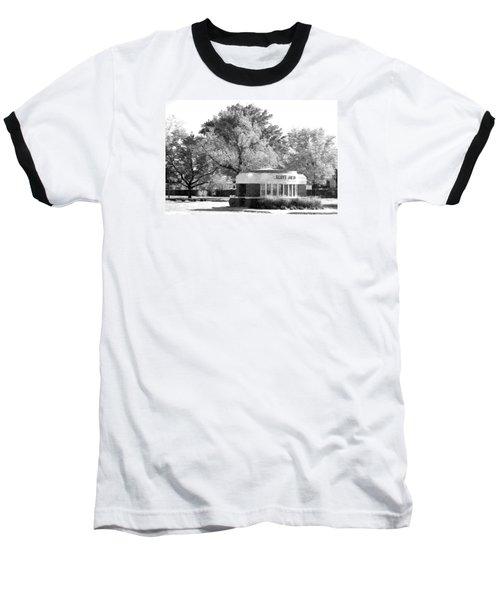 Baseball T-Shirt featuring the photograph Old Main Gate by John Freidenberg