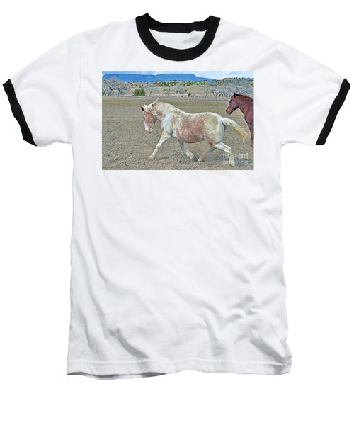 Baseball T-Shirt featuring the photograph Old Mare by Debby Pueschel