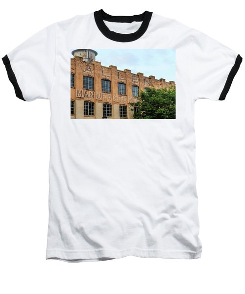 Old Mill Building In Buford Baseball T-Shirt