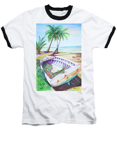 Old Paint Baseball T-Shirt by Patricia Piffath
