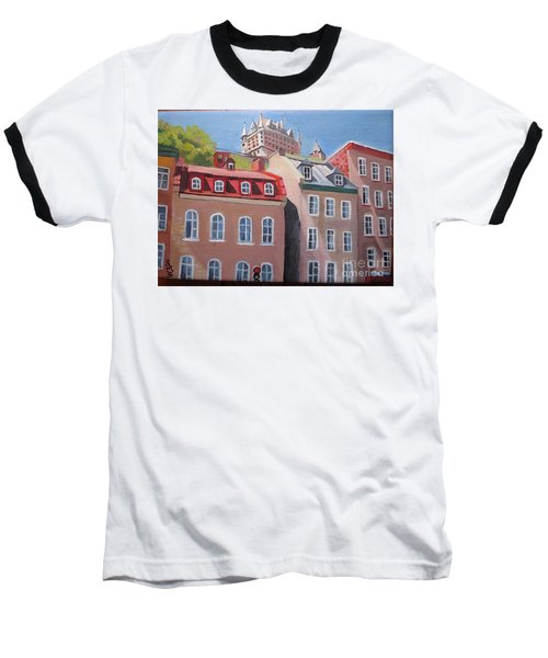 Old Quebec City Baseball T-Shirt