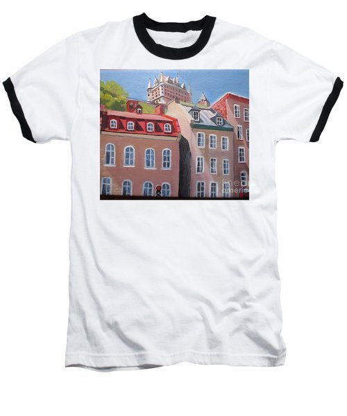 Old Quebec City Baseball T-Shirt