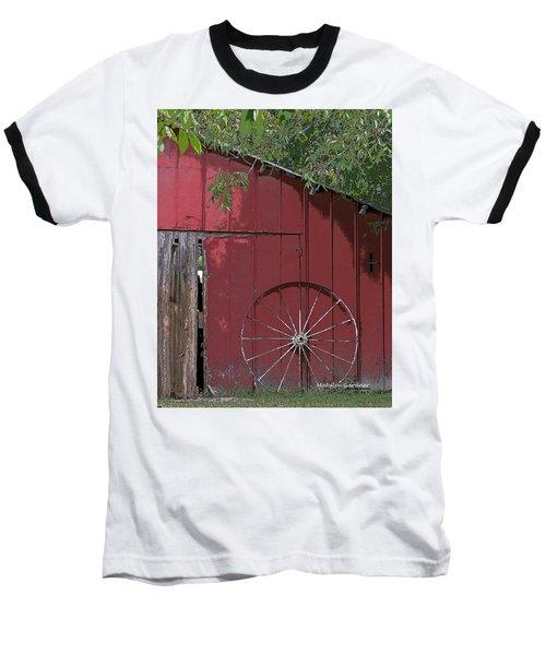 Old Red Barn Baseball T-Shirt