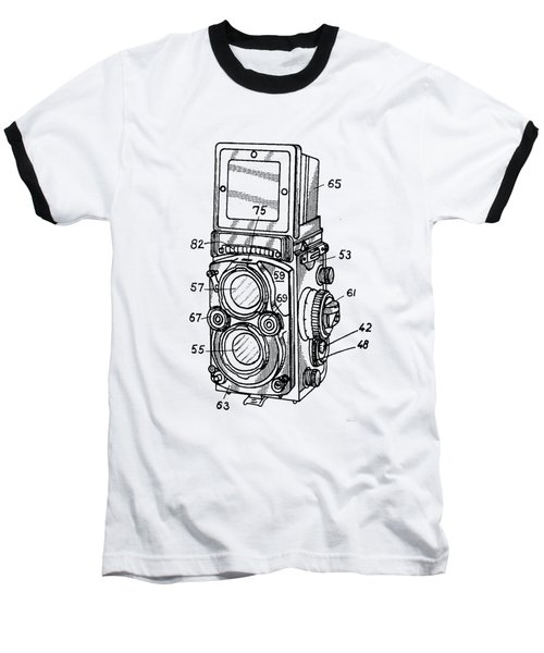 Old Rollie Vintage Camera T-shirt Baseball T-Shirt