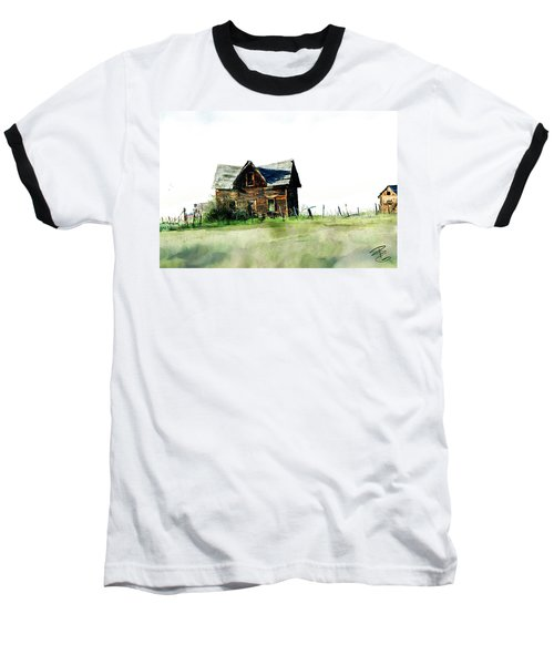 Old Sagging House Baseball T-Shirt