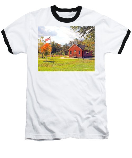 Old Schoolhouse-wildwood Park Baseball T-Shirt