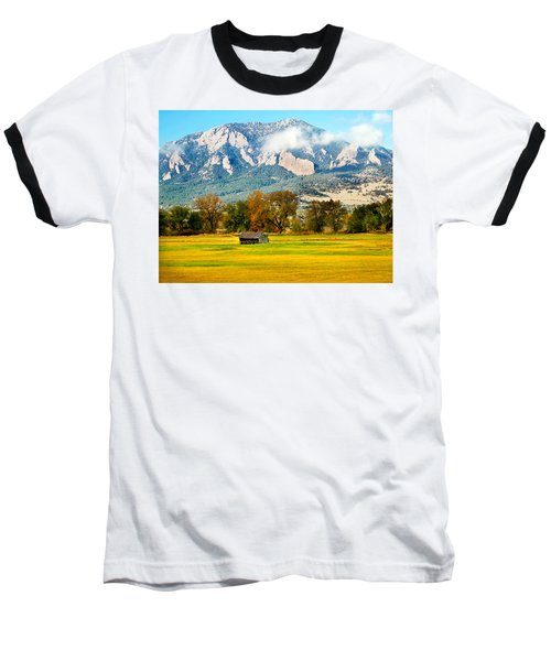 old shed against Flatirons Baseball T-Shirt