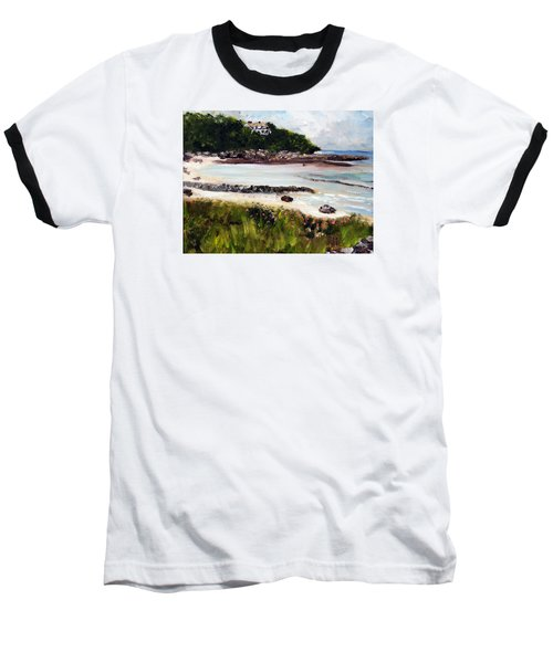 Old Silver Beach Falmouth Baseball T-Shirt