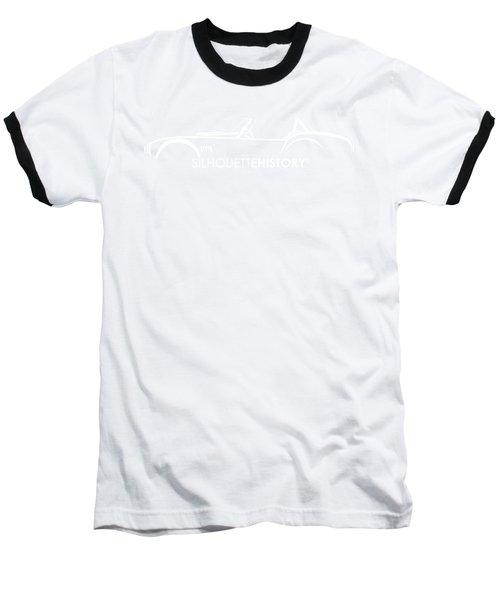Old Snake Silhouettehistory Baseball T-Shirt by Gabor Vida