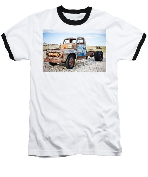 Baseball T-Shirt featuring the photograph Old Truck by Silvia Bruno