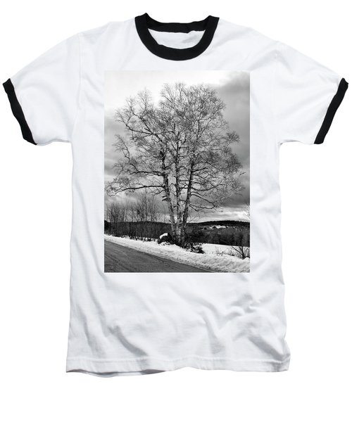 Old White Birch Baseball T-Shirt