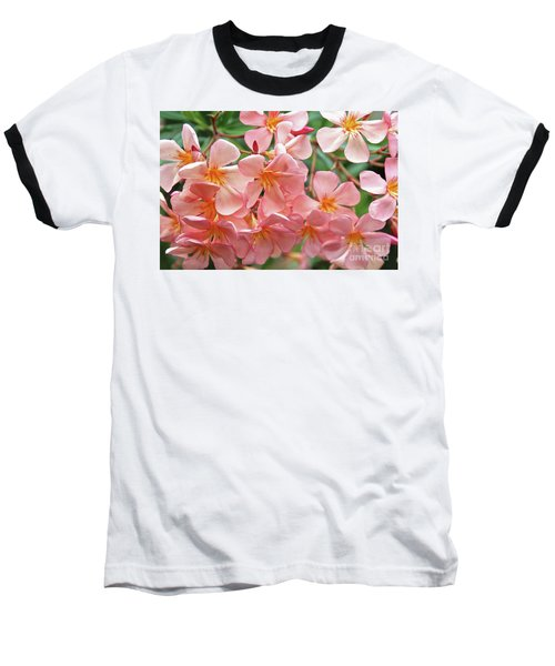 Baseball T-Shirt featuring the photograph Oleander Dr. Ragioneri 5 by Wilhelm Hufnagl