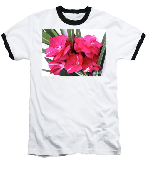 Baseball T-Shirt featuring the photograph Oleander Geant Des Batailles 1 by Wilhelm Hufnagl