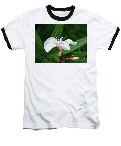 Oleander Harriet Newding  1 Baseball T-Shirt by Wilhelm Hufnagl
