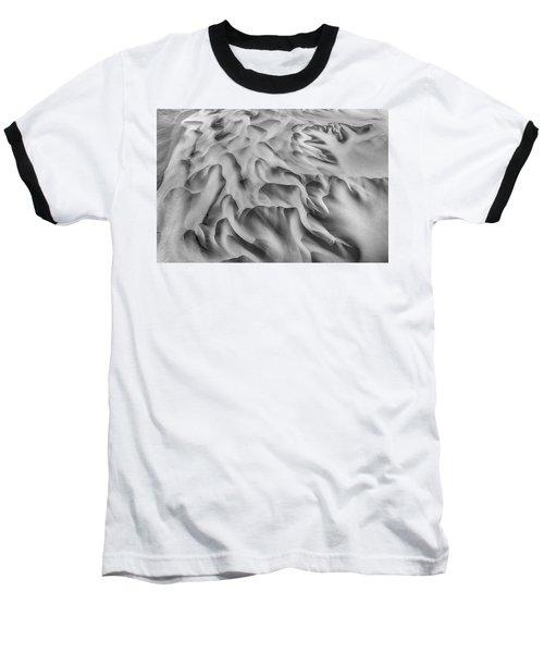 Olfusa River Delta_2 Baseball T-Shirt