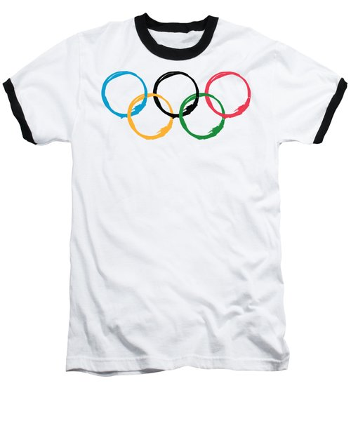 Olympic Ensos Baseball T-Shirt