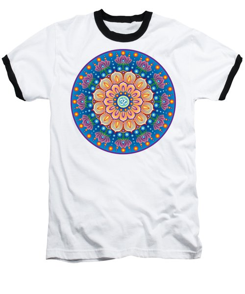 Om Mandala Baseball T-Shirt