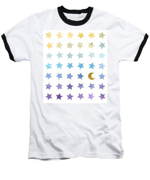 Ombre Cosmos Baseball T-Shirt