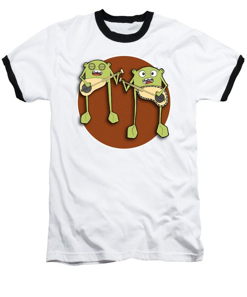 Omti And Itmo Baseball T-Shirt by Uncle J's Monsters