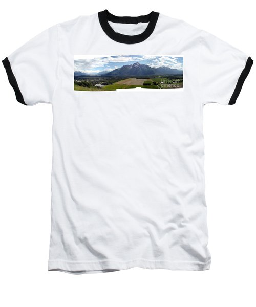 On A Butteiful Day Baseball T-Shirt by Ron Bissett