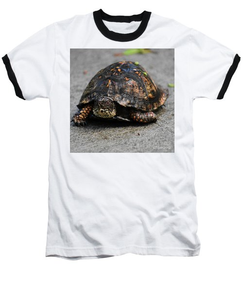 Baseball T-Shirt featuring the photograph On A Mission by Skip Willits