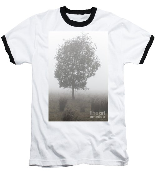 Baseball T-Shirt featuring the photograph On A Winter's Morning by Linda Lees