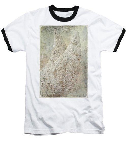 On Angels Wings Baseball T-Shirt