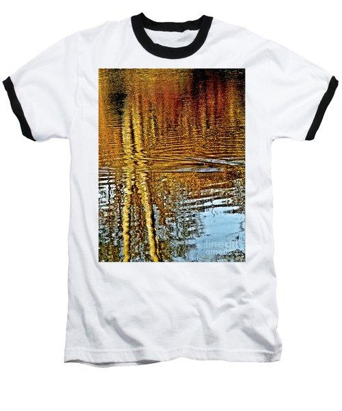 On Golden Pond Baseball T-Shirt by Carol F Austin