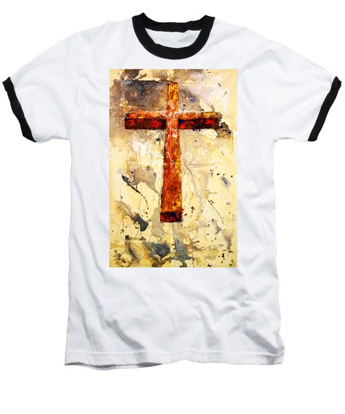 On That Old Rugged Cross Baseball T-Shirt